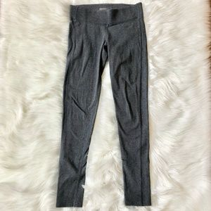 FOREVER 21 Thick Knit Heathered Gray Leggings M